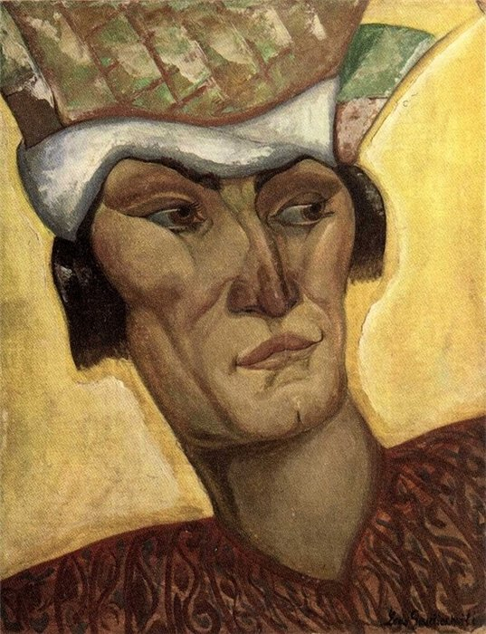 The head of a warrior, 1924
