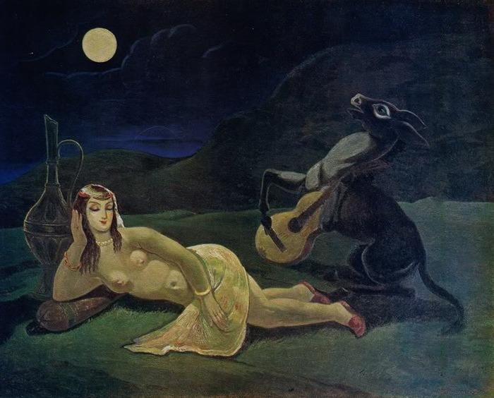 Tsknetin serenade, 1958