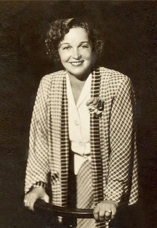 Vera Maretskaya (31 July 1906 - 17 August 1978)