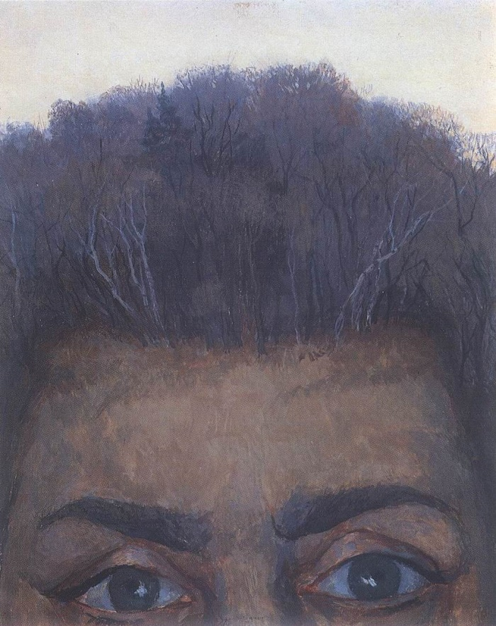 Wife's eyes. 1988