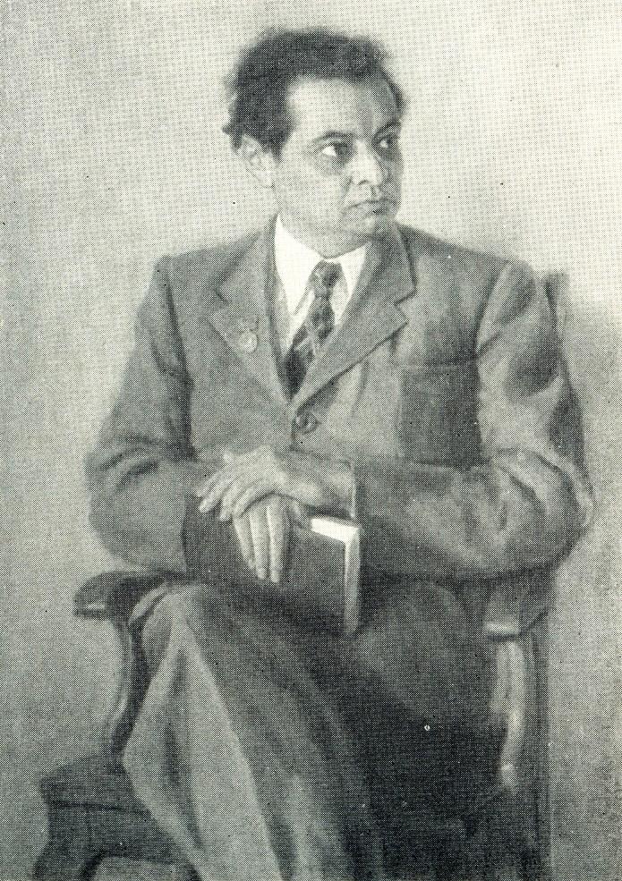 Writer Aibek, 1949