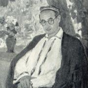 Writer Sabir Abdullah. 1958