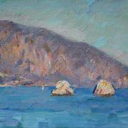 Crimean landscape. 1987
