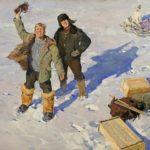 Soviet Russian artist Oleg Gadalov 1935-2016