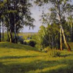 Soviet landscape painter Eduard Bragovsky