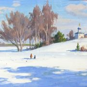 Winter landscape. 1973