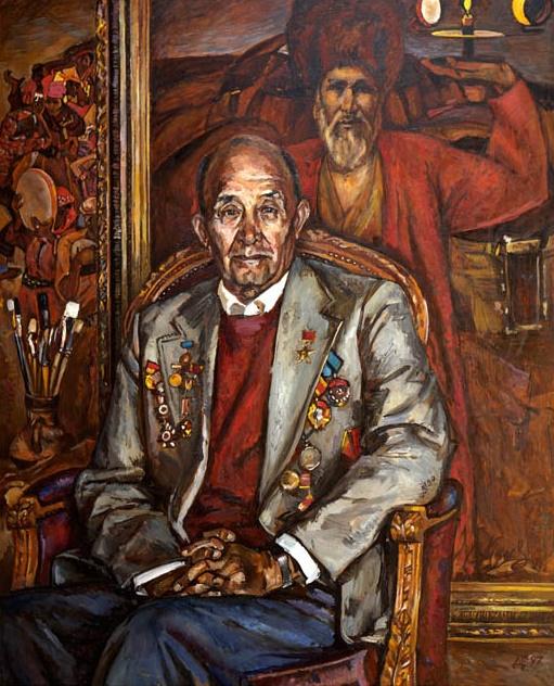 Academician Izaat Klychev. 1997