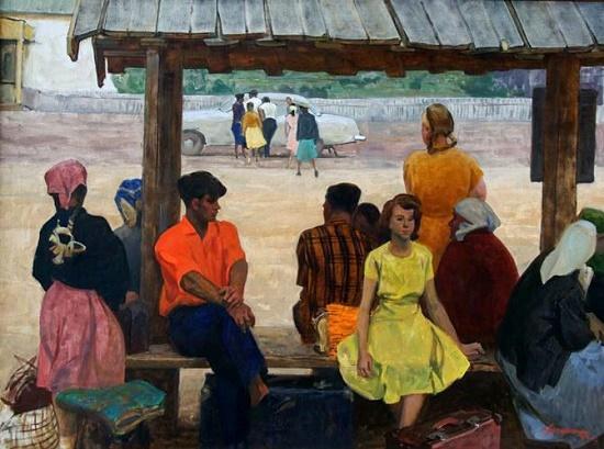 Soviet artist Vladimir Semenovich Zakharkin