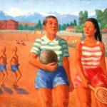 Soviet Kyrgyz painter Gapar Aytiev 1912-1984