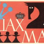 Soviet chess inspired matchbox labels