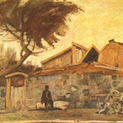 K. Papikyan. Alone. Oil. 1986