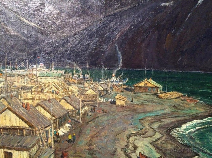 Kamchatka. Fisherman's Village, 1978