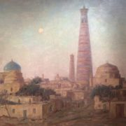 Khiva. Summer twilight, 1986