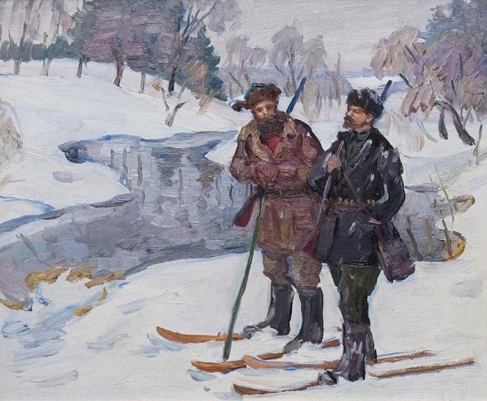 Lenin on hunting