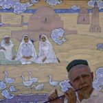 Soviet Tatar artist Rifkat Mukhamedovich Vakhitov
