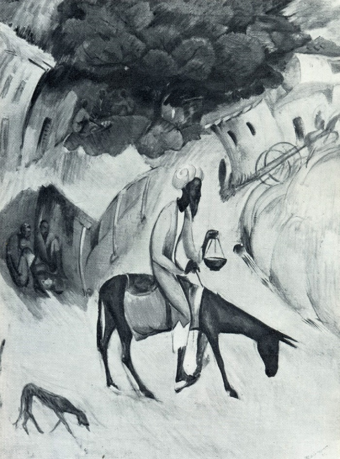 O.K. Tatevosyan. Old Samarkand. 1929