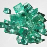 Polished Emerald Stones