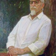 Portrait of Burnashev. 1982