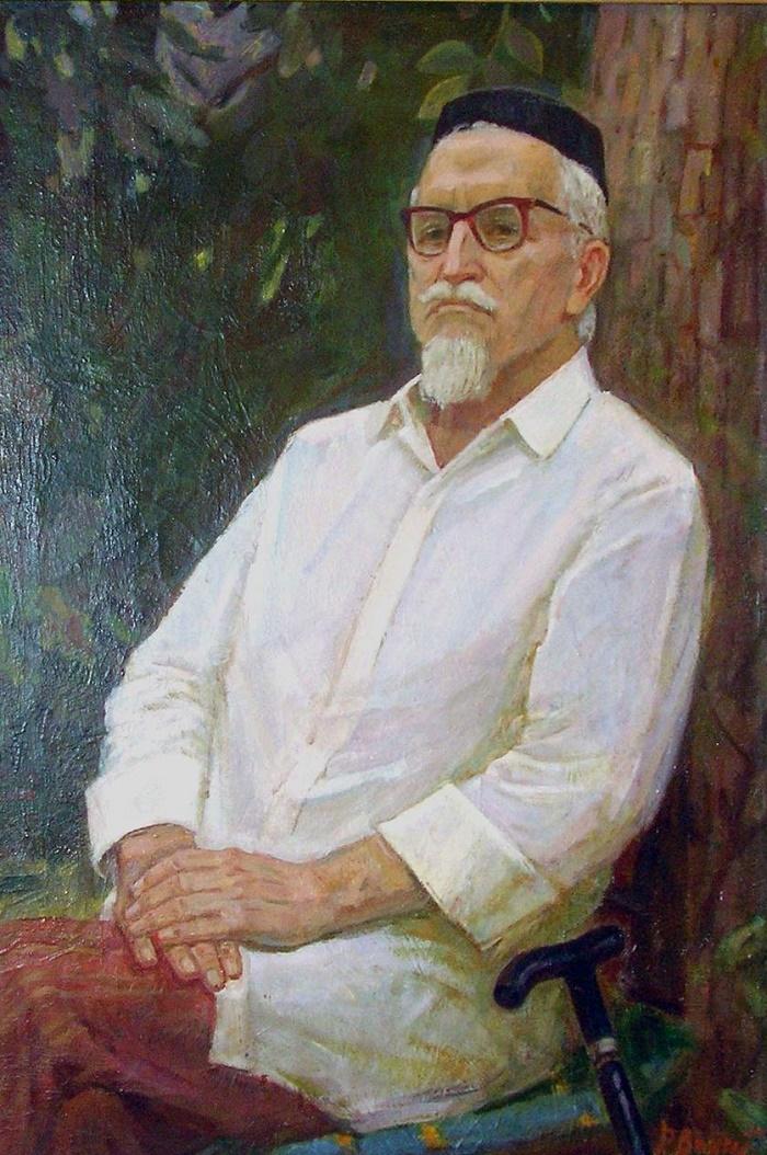 Portrait of Burnashev. 1982