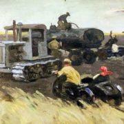 Refueling machines. 1954