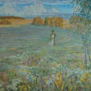 Russian field. 1990