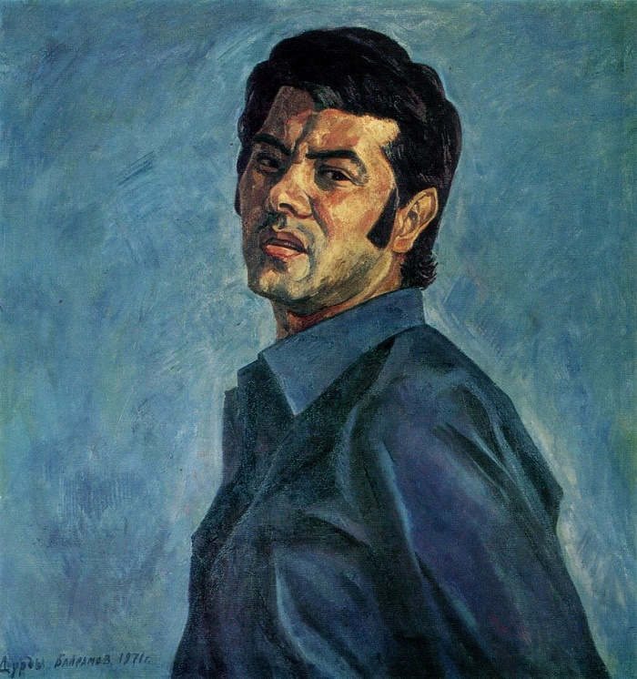Self-portrait. 1971