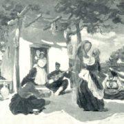 Song of hero. 1944. M. Aslamazyan