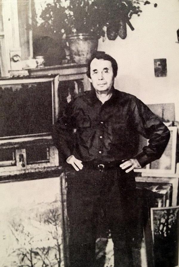Soviet artist Viktor Nikolaevich Chulovich (July 5, 1922 - 1994)