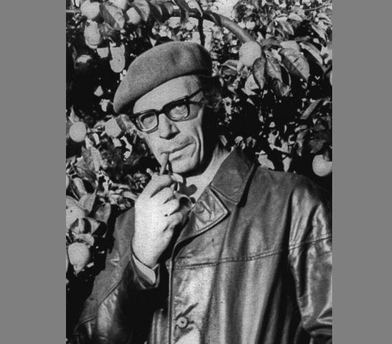 Soviet artist Vladimir Semenovich Zakharkin, born 6 October, 1923