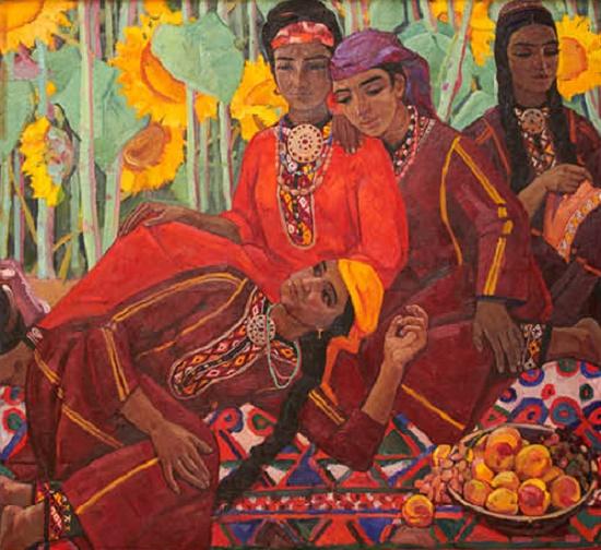 Talk. 1969. Oil, canvas