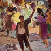 The nineteen-twentieth. Artist A. Bekaryan