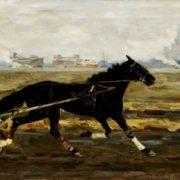Training Plast (a horse). 1957