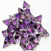 Triangle precious stones