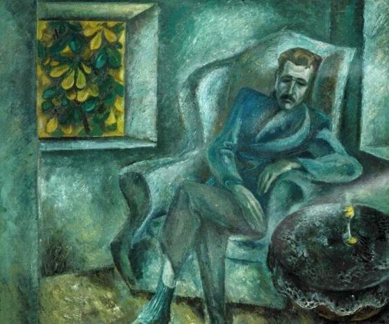 Viktor popkov. Artist Nikolay Yeryshev. 1970
