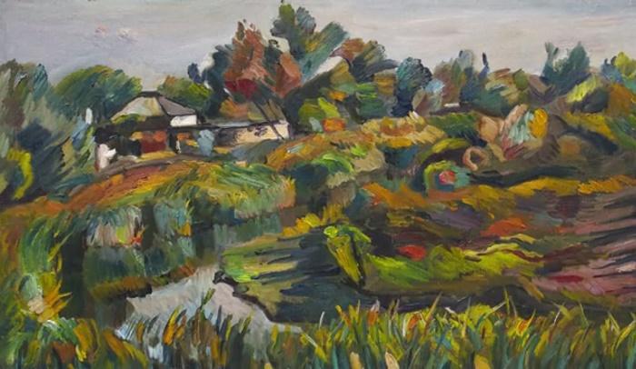 Village, landscape