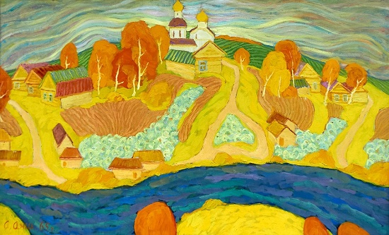 Soviet artist Alexey Avdeyevich Anikeenok