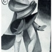 A. Ekster. A sketch of the costume for Shakespeare's tragedy Romeo and Juliet. Gouache. Chamber Theater. Moscow. 1921
