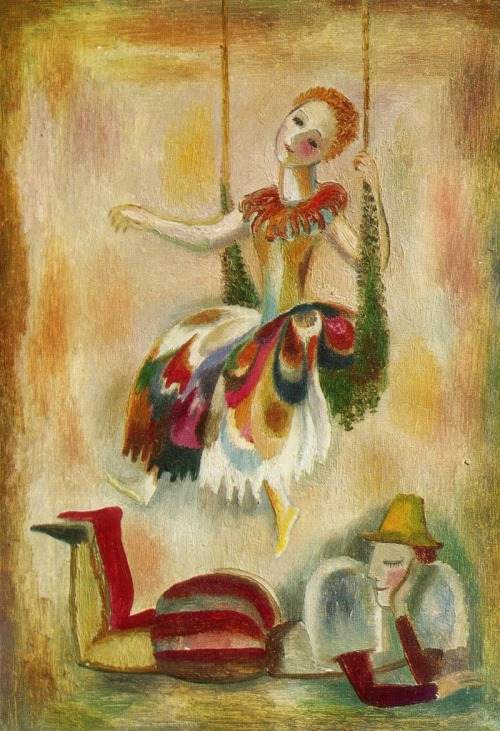 A.O. Tsybikova (born 1951 Moscow). Costume designs for Shakespeare's 'Midsummer Night's Dream'. 1976. Oil on cardboard