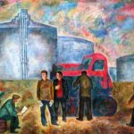 Building New Country Soviet Youth