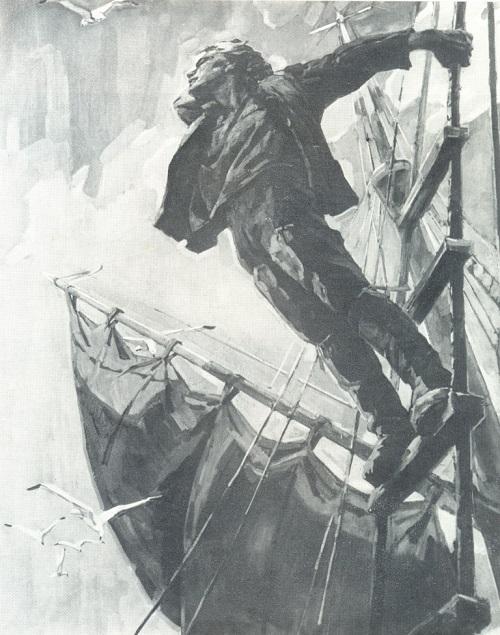 Ada Rybachuk (1931-2010) Shipboy. 1957