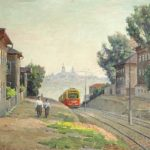 Soviet artist Vladimir Grigorievich Grokhovsky