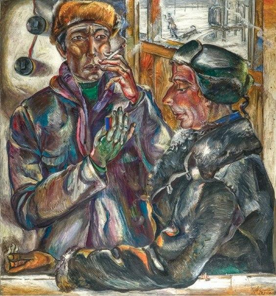 Alexandr Bibin (1939-2009). Talk about soil. 1979