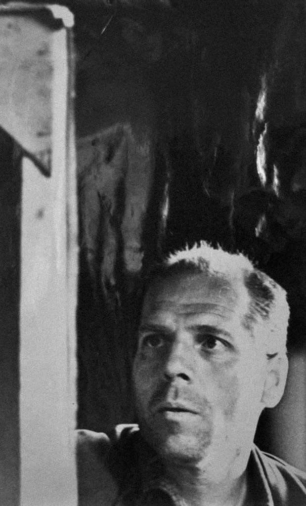 Alexey Avdeyevich Anikeenok (July 3, 1925 - April 2, 1984). Photography Yu.I. Frolov. 1967