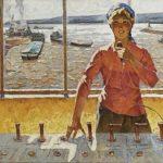 Soviet realist painter Alexey Yeryomin 1919-1998