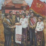 Anatoly Chernov. Wheat festival. 1980
