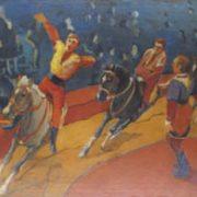 Andrey Mordovets. At the circus. 1978