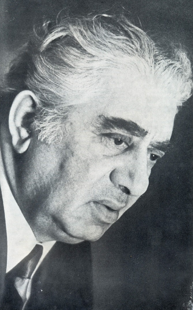 Aram Ilyich Khachaturian (6 June 1903 – 1 May 1978), Soviet Armenian composer and conductor