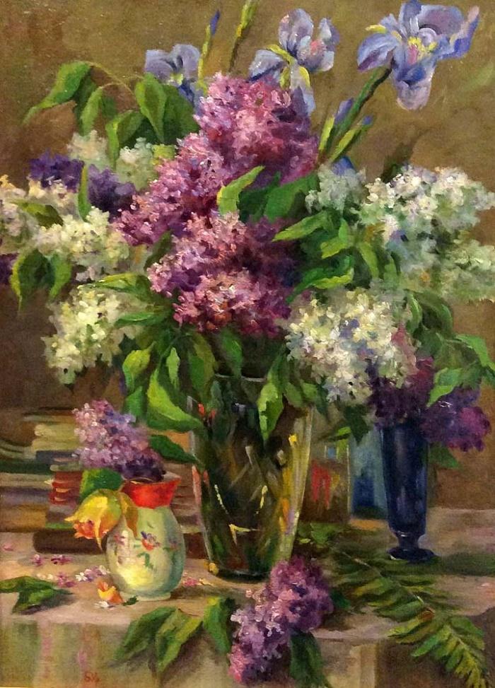 Baki Idrisovich Urmanche (1897-1990). Lilac. 1952