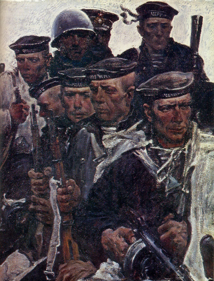 Chernomortsy (Black Sea sailors). 1971. Fragment