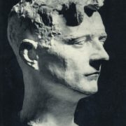 Composer D. Shostakovich. 1945. Sculptor I. Slonim